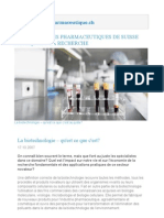 Biotechnologie Pharma