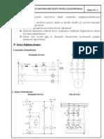 Asenkron motorların basit kesik çalıştırılması