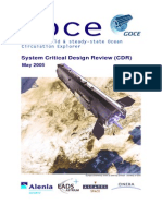 GOCE System Critical Design Review
