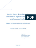 Registre National Des Credits