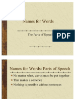 The Parts of Speech (1)