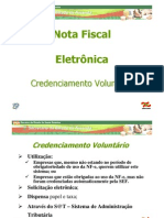Credenciamento Voluntario NF-e - V. 1.0.1