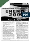 Enem2008 - Prova 02 - Azul