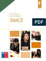 Folleto de Orientaciones SIMCE 2011 8vo Basico