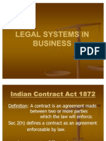 Legal Systems in Business