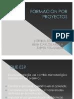 Formacion Por Proyectos