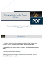 Emerging Islamic Housing Finance Markets Copy