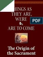 The Origin of the Sacrament