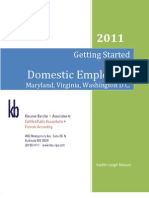 Domestic Employer Pamphlet