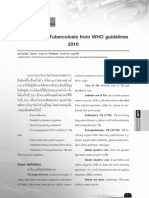 TB Guideline WHO 2010