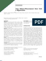 Chondrogenic priming adipose-mesenchymal stem cells for cartilage tissue regeneration.