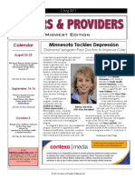 Payers & Providers Midwest Edition -- Issue of August 2, 2011