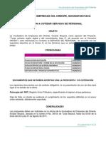 INVITACIÓN A COTIZAR SERVICIO DE PERSONAL TUNJA DIGITAL