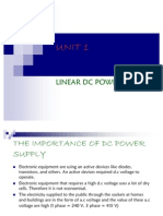 Unit 1 Dc Power Supply