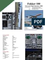 FS2004 Fokker 100