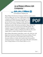 Introduction of Bajaj Allianz Life Insurance Company