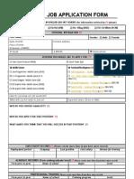Gameloft Job Application Form