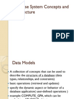 1.Database System Concepts and Architecture
