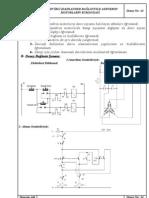 İki devirli (dahlander bağlantılı) asenkron motorların kumandası