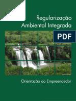 Cartilha Regularização Ambiental Integrada em Minas |Gerais