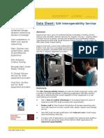 SAN Interoperability Service Description