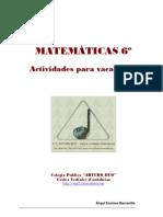 MATEMATICAS-6o-VACACIONES-2009-