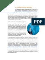 Comercio y Finanzas Internacionales