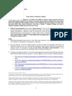 Essay Examination 3 (ENG 240 F2011)
