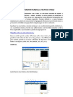 Manual Conversion Formatos de Video
