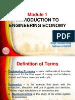 Module 1 Engineering Economy (1)