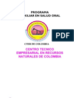 Ajuste Aux. Salud Oral