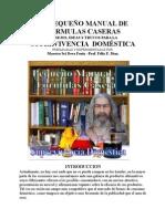 Pequeño Manual de Formulas FNX