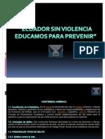 Confer en CIA Ecuador Sin Violencia