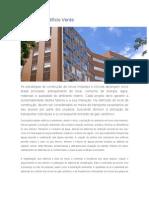 Certificação Edifício Verde-Einstein