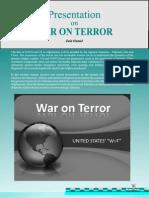 Presentation on War On Terror by Sir Zaid hamid