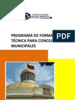 Programa de Apoyo Al Concejo Municipal