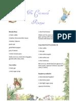 Cottontail Recipes