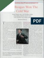 Dinesh D'Souza.how Reagan Won Cold War
