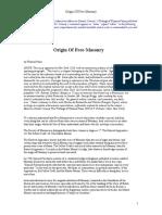 Origin of Freemasonry-Thomas Paine