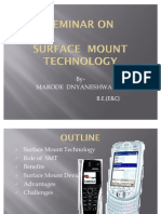 PPT. ON SURFACE MOUNT TECHNOLOGY
