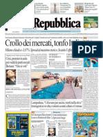 La Repubblica 02.08.11
