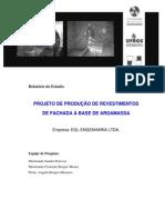 ProjetodeProducaodeRevestimentosdeFachadaaBasedeArgamassa