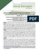 ESTUDO DE REVISÃO SISTEMÁTICA SOBRE O SISTEMA DE PONTUAÇÃO DE INTERVENÇÕES TERAPÊUTICAS — 28
