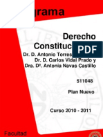 DERECHO CONSTITUCIONALI201011