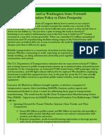 Forward-Thinking Transnportation Policy