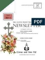 Body of Newsletter August 2011