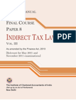 54 Indirect Tax Laws Vol III