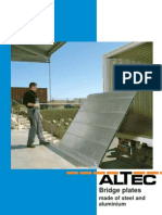 Altec Catalogue Bridge Plates