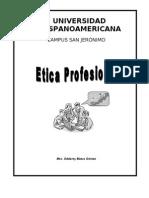 Curso Etica Profesional-uhispam