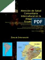Aps e Intercultural Id Ad en La Amazonia Ecuatoriana
